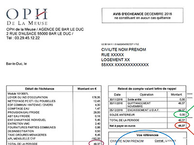 Comprendre Ma Facture Oph Meuse